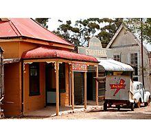 Australian Heritage Town Photographic Print