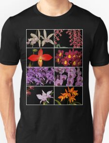 Orchid Collage TShirt T-Shirt