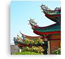 Oriental ornaments Canvas Print