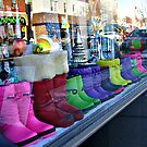 Rainbow Boots for Sale by Jane Neill-Hancock