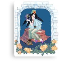 Tarot Ace of Coins/Pentacles Canvas Print