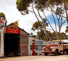 Australian Heritage Town Garage by jwwallace