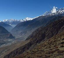 Kali Gandaki Valley, Nepal by wiggyofipswich