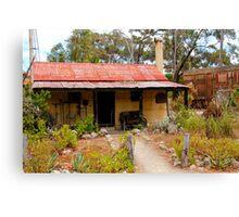 Australian Heritage Cottage Canvas Print