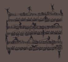 Mozart Men One Piece - Short Sleeve