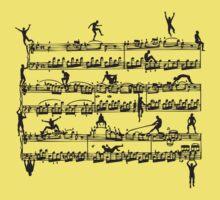 Mozart Men Baby Tee