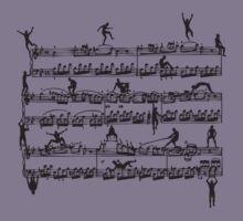 Mozart Men Kids Tee
