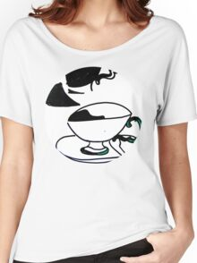 tea cup's Women's Relaxed Fit T-Shirt