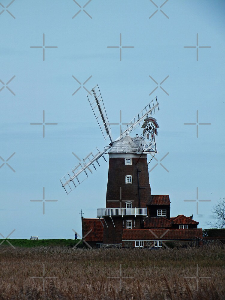 Cley Windmill by Yampimon