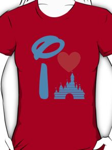 I Heart Sleeping Beauty (Inverted) T-Shirt