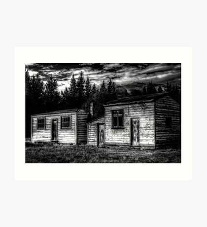 Historic Sheds Art Print