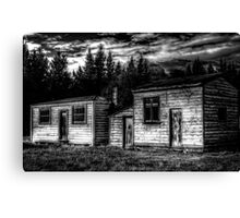Historic Sheds Canvas Print