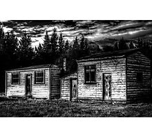 Historic Sheds Photographic Print