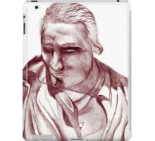 1898 Stage actor iPad Case/Skin