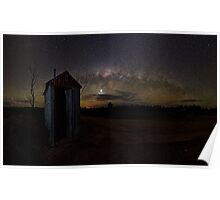 Outhouse Pan Poster