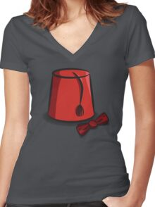 The 11th Doctor Women's Fitted V-Neck T-Shirt