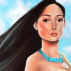 Pocahontas by Sam Pea