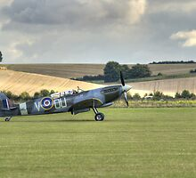 Grace Spitfire ML407 by Nigel Bangert