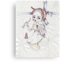 Agatha the doll Canvas Print