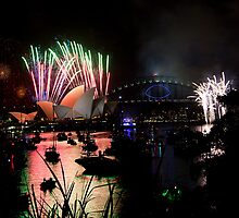 new year's eve 2014 of sydney - 3 by houenying