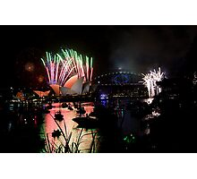 new year's eve 2014 of sydney - 3 Photographic Print
