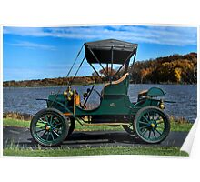 1908 REO Runabout Poster