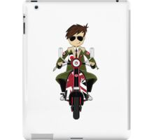Mod Boy & Retro Scooter iPad Case/Skin
