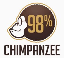 98% Chimpanzee by artpolitic