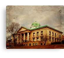 Sullivan County Court House Canvas Print