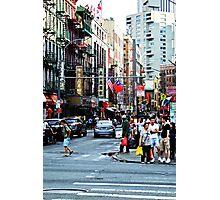 NYC Street Life Photographic Print