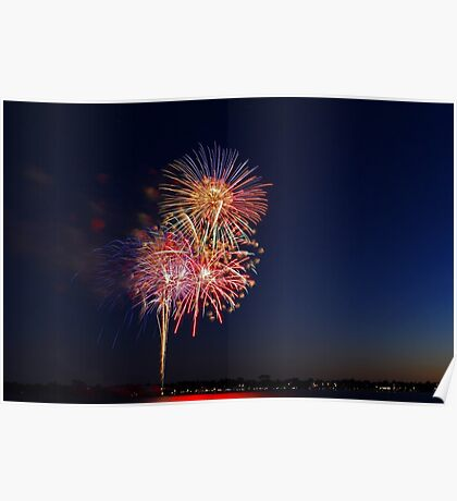 New Year Day Fireworks 2014  Poster