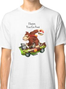 Mario I Insist you go first Classic T-Shirt