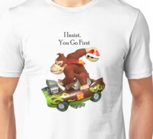 Mario I Insist you go first Unisex T-Shirt