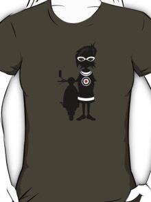 Mod Girl & Retro Scooter T-Shirt
