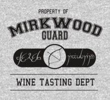 Mirkwood Guard Wine tasting department by Unicorn-Seller