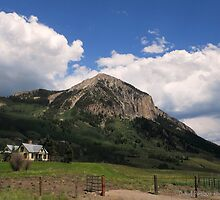 Crested Butte Colorado by David Posaas