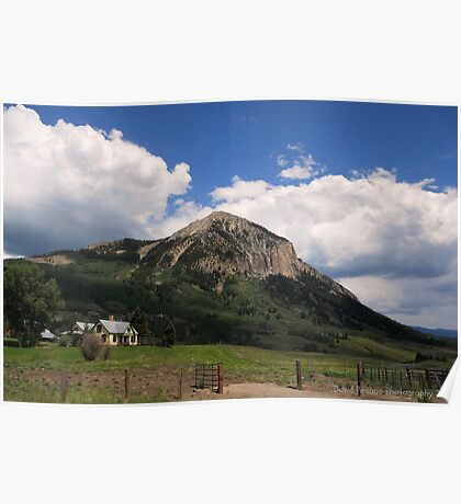 Crested Butte Colorado Poster