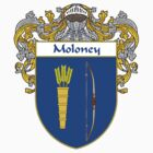 Moloney Coat of Arms/Family Crest by William Martin