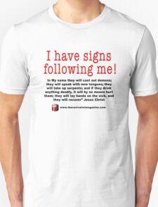 Signs Following T-Shirt