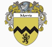 Morris Coat of Arms/Family Crest Kids Clothes