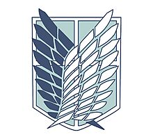 Shingeki no Kyojin Survey Corps Logo / Symbol Photographic Print
