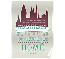 J.K Rowling quote Poster