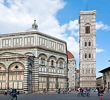 Florence, Cathedral, Baptisterium, Toscana, Italy, Florenz Dom und Baptisterium, Toskana, Italien by Frank Schneider
