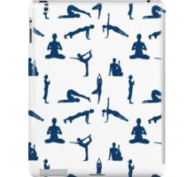 Yoga Positions Pattern iPad Case/Skin