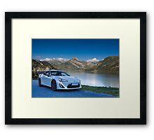 Toyota GT86 Framed Print