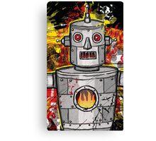 The Tin Man of the Apocalypse! Canvas Print