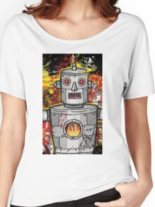 The Tin Man of the Apocalypse! Women's Relaxed Fit T-Shirt