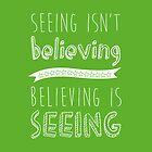 Believe by martalemon