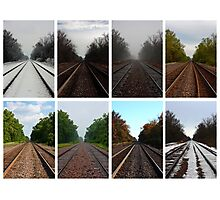 Track of Time (2013) Photographic Print