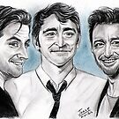 Richard Armitage, Lee Pace and Hugh Jackman  by jos2507